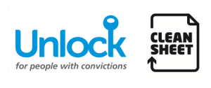 Unlock and Clean Sheet logo